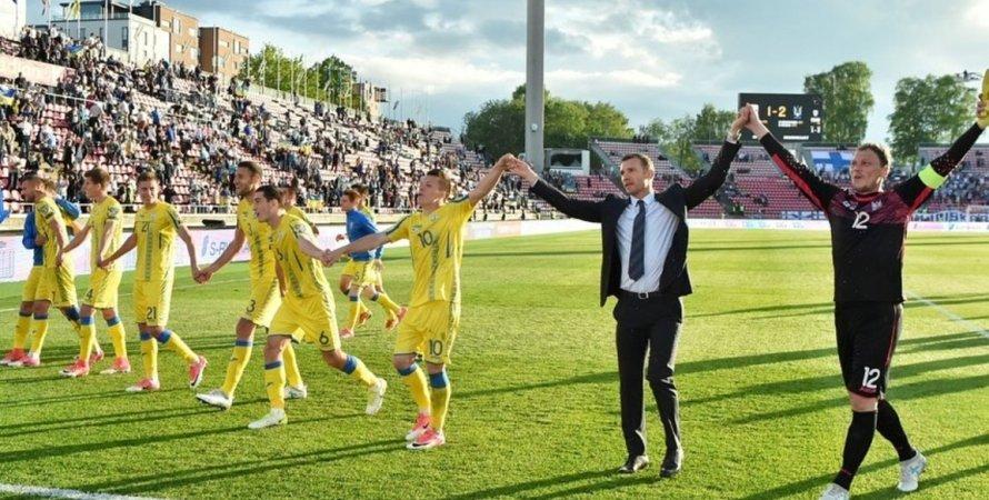 Андрій Шевченко зворушливо попрощався зі збірною України з футболу