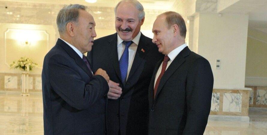 """Назарбаев, Лукашенко и Путин / Фото: """"РИА Новости"""""""