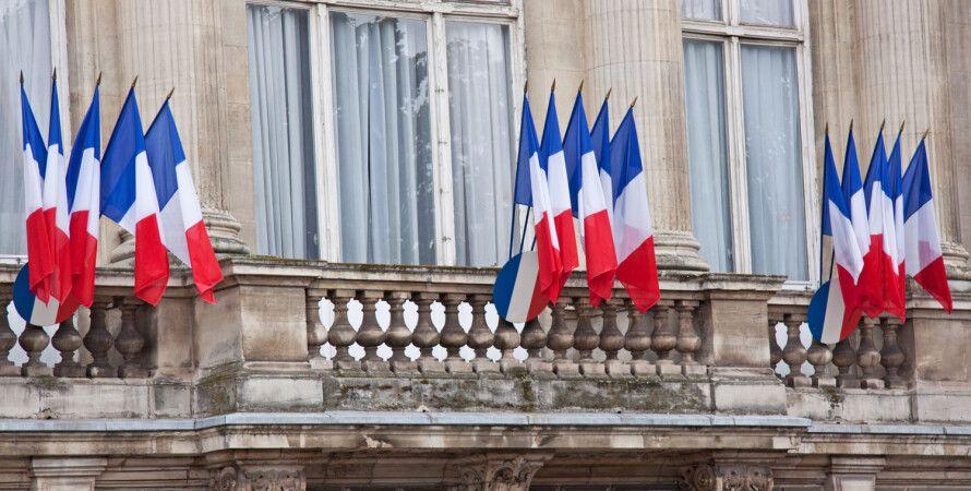 Люксембургский дворец, в котором располагается Сенат Франции