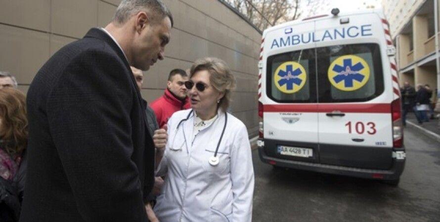 Коронавирус, Ольга Голубовская, Госпитализация, Киев