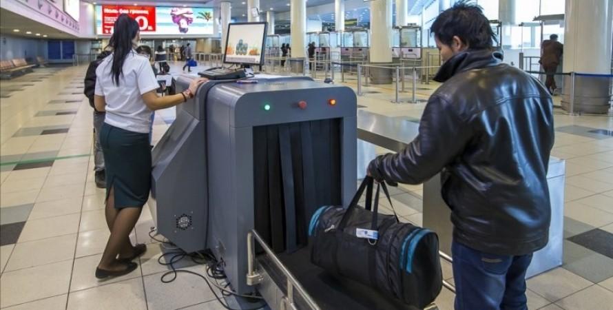 рентген, аеропорт, нова пошта