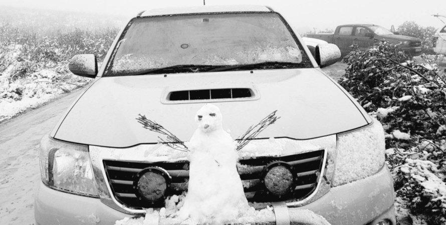 Южная Африка, снег
