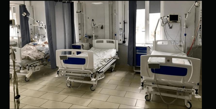 коронавирус, больница, койки, фото