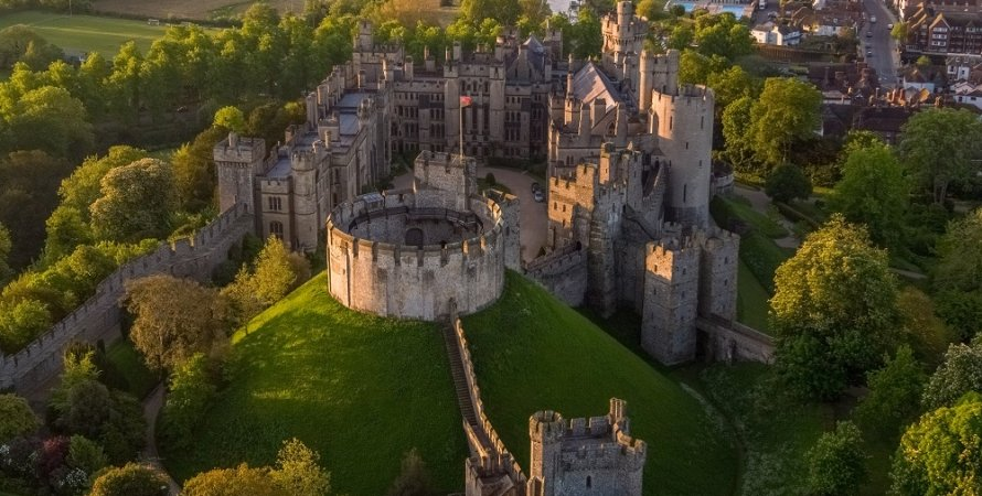 замок Арундел, кража