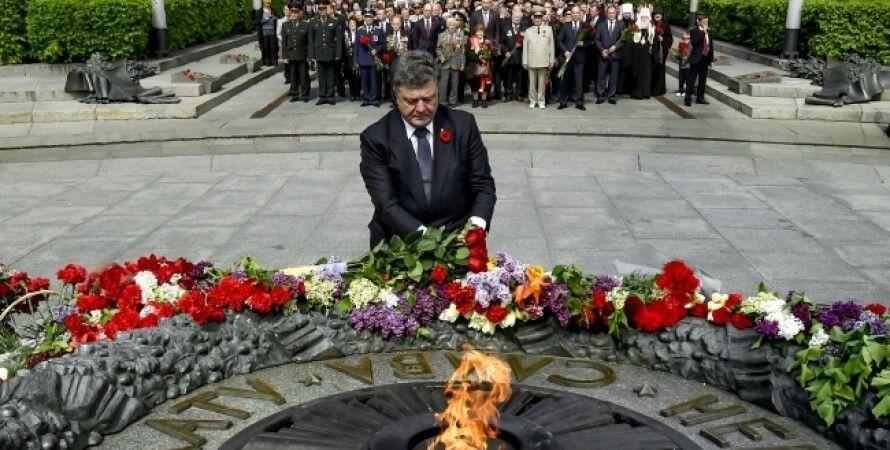 Петр Порошенко и генсек ООН Пан Ги Мун / Фото пресс-службы президента