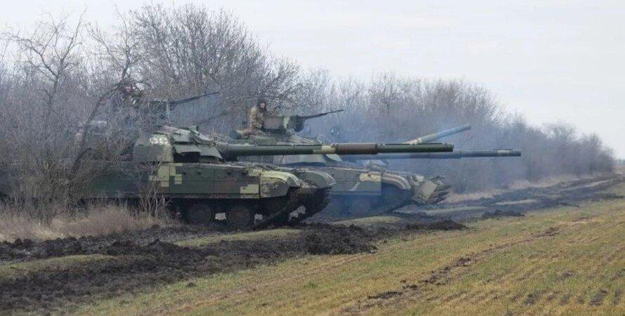 ВСУ, танки, артиллерия, Крым, учения,