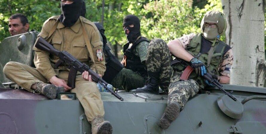 Боевики в Донбассе / Фото: inforesist.org