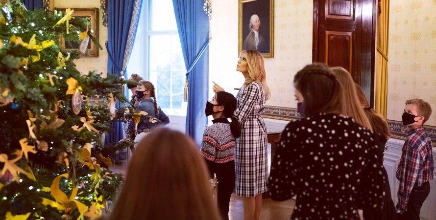 Мелания Трамп, рождество