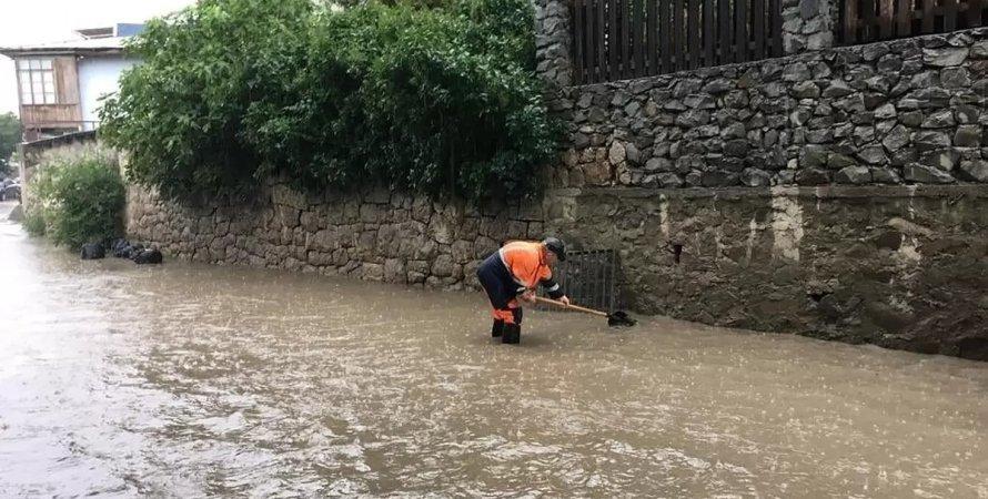 потоп, потоп в Крыму, ЧС в Крыму, затопление в Крыму