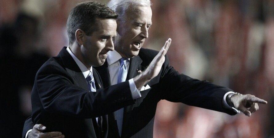 Джо Байден с сыном Бо / Фото: Reuters