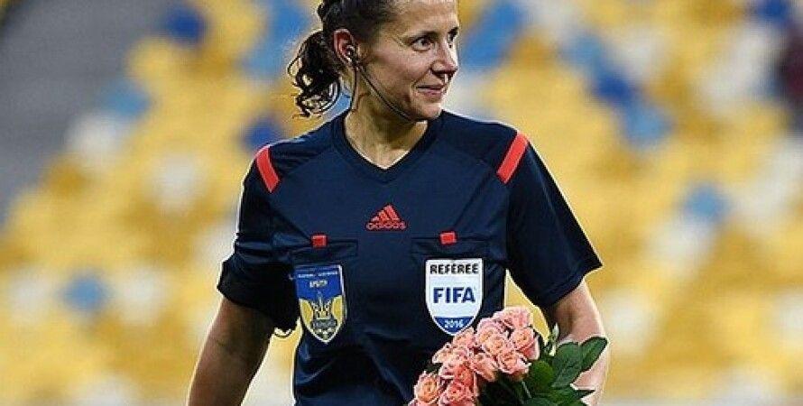 IFFHS, Футбол, Екатерина Монзуль, Арбитр, УАФ