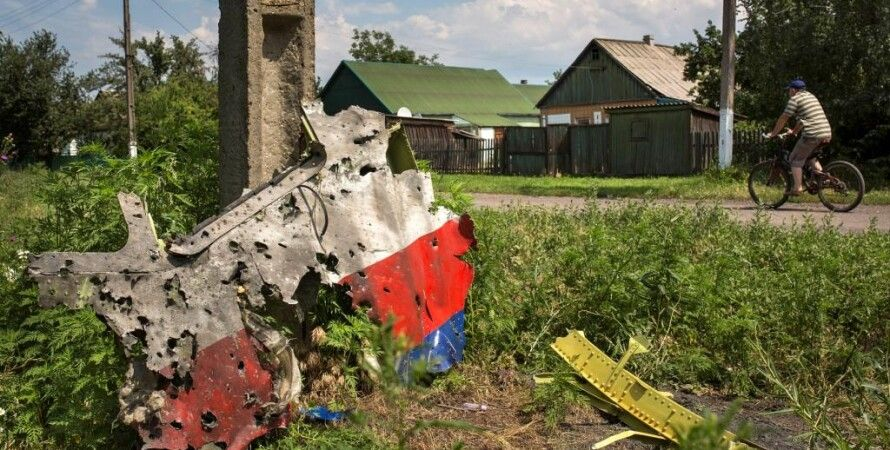 """Обломок сбитого """"Боинга"""" / Фото: Getty Images"""