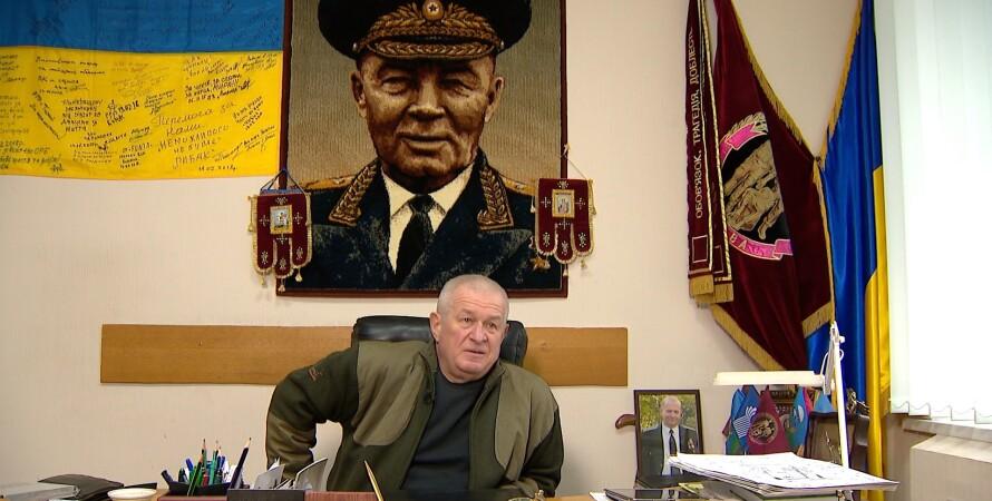 Сергій Червонописький, портрет Маргелова, ВДВ
