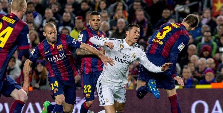 "Эпизод матча """"Реал""-""Барселона"" / Фото: Eurosport.com"