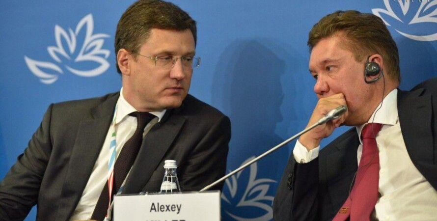 Александр Новак и Алексей Миллер / Фото: riafan.ru