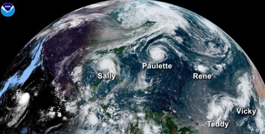 урагани, тропічний шторм, зміна клімату, Земля