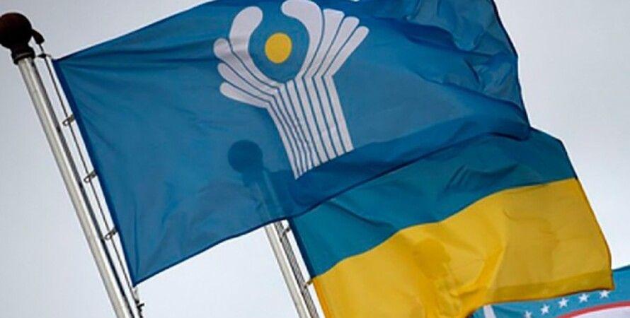 выход украины из снг