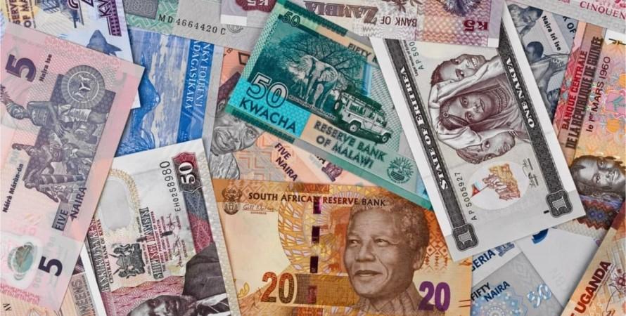 Валюта, Африка, банкноти, фото