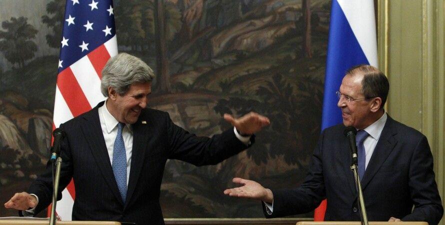 Джон Керри, Сергей Лавров / Фото: cont.ws