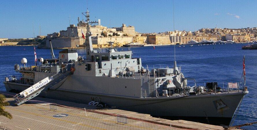 покупка вооружениея для вмс украины, корабль вмс британии