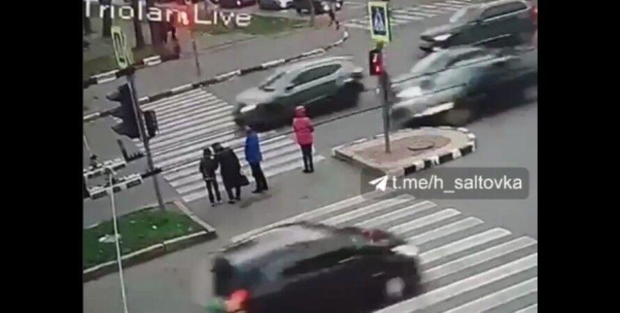 ДТП в Харькове, виновником оказался иностранный студент