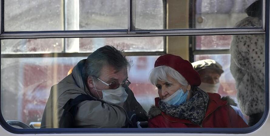 коронавирус, украина, статистика, 5 февраля, фото, люди в масках