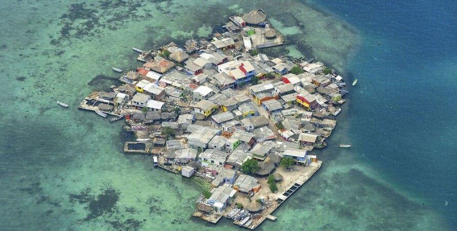 Остров Санта-Крус дель Ислоте / Фото с сайта factinteres.ru