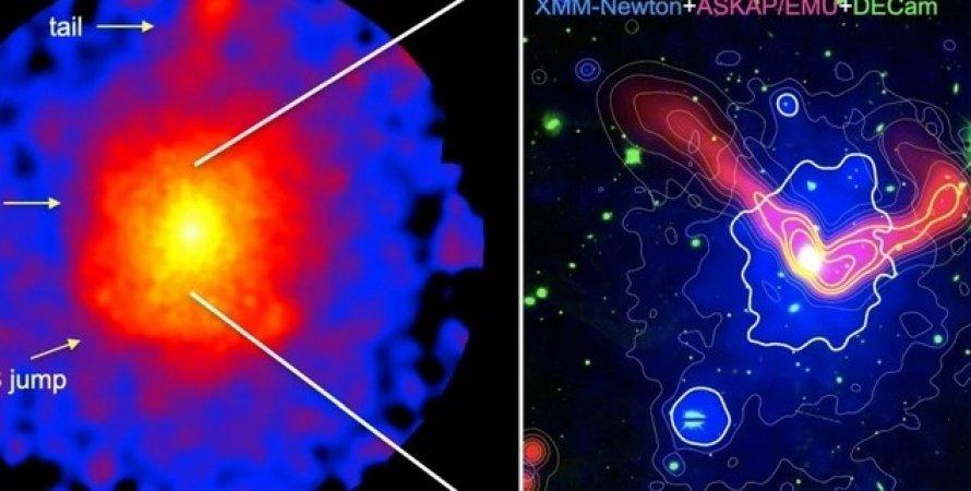 Галактика з чорною дірою