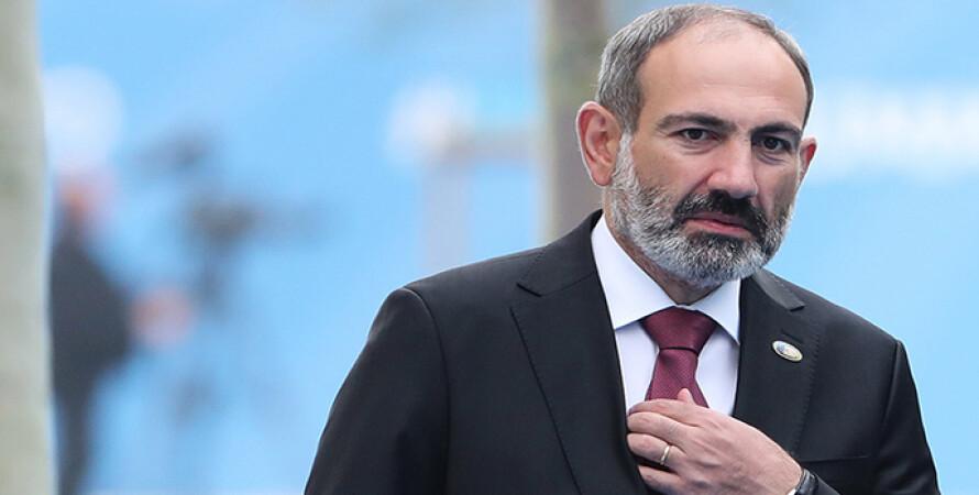 Никол Пашинян, армения, премьер-министр, акция, отставка, митинг