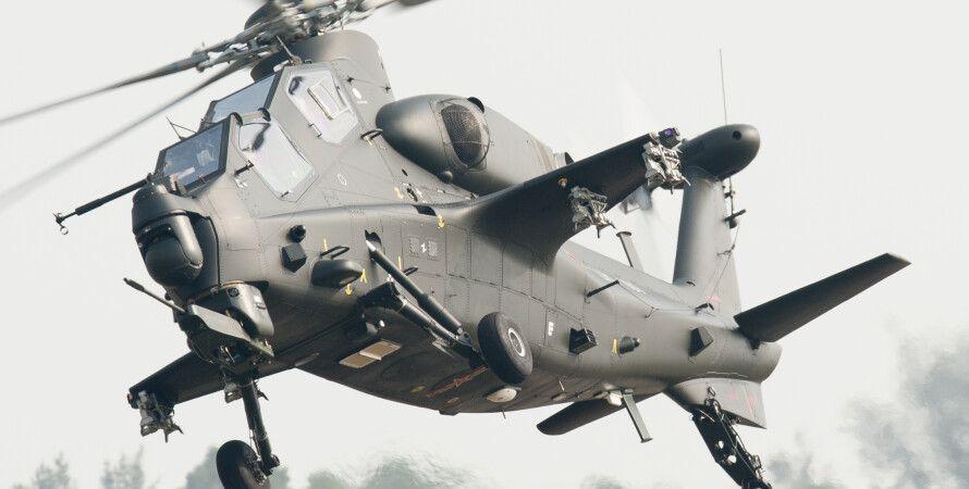 НОАК, CAIC WZ-10, вертолёт, армия, Китай, КНР