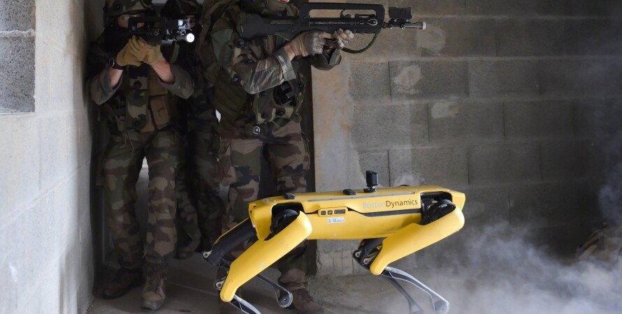 франция, армия, роботы, технологии, военные