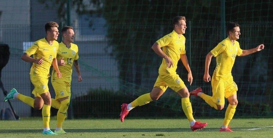Сборная Украины (U-21), молодежная сборная Украины
