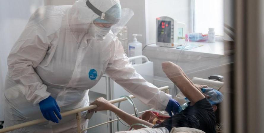 ковид, больница, врач, пациент, фото