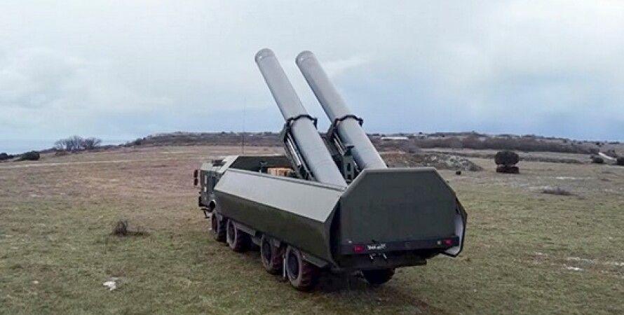 Крым, ракетный комплекс,  Бастион, Минобороны РФ, военные