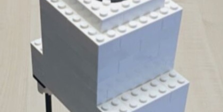 Мікроскоп з Лего