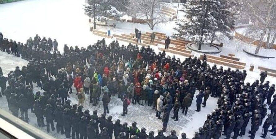 Россия, акции протеста, Навальный, Путин