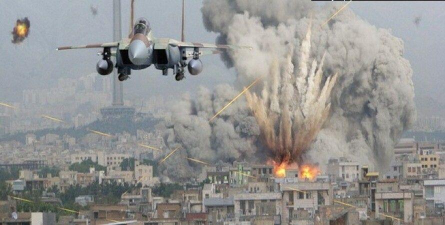 Авианалет ВВС США / Фото из открытого источника