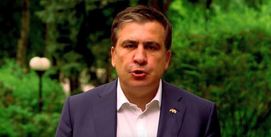 Михаил Саакашвили / Кадр из видео