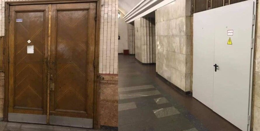 Киев, метро, двери, замена, киевляне, пассажиры, комментарии,