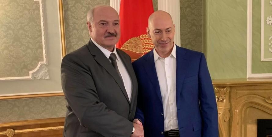 Олександр Лукашенко, Дмитро Гордон, зустріч Гордона та Лукашенка