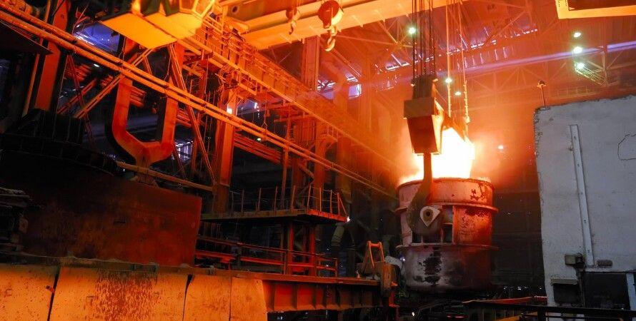 виробництво металу, падіння виробництва в Україні, ввп України