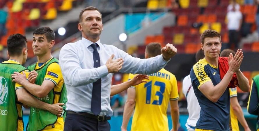 Андрей Шевченко тренер сборной Украины