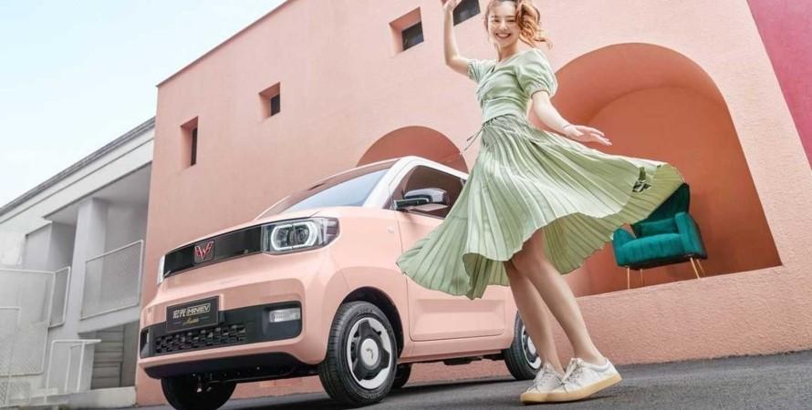 самый популярный электромобиль в Китае