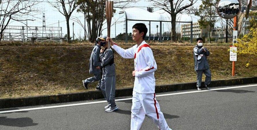Олімпіада-2020 року, Японія, факел, Олімпійський вогонь, Естафета