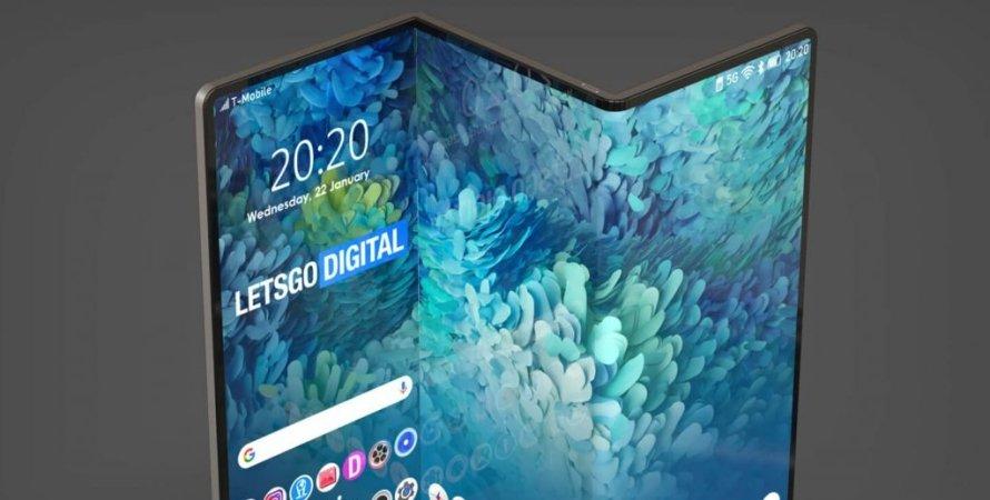 планшет, гибкий планшет, складной планшет, планшет Samsung