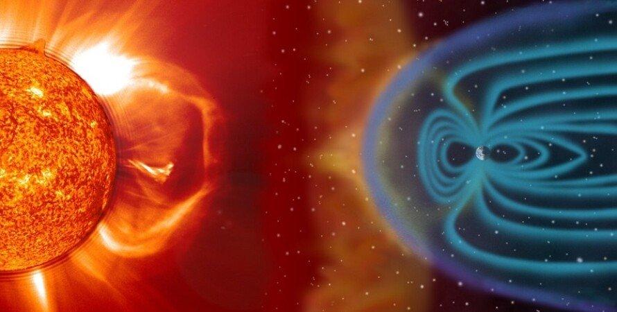 солнечные бури, Земля, излучение, космос, фото