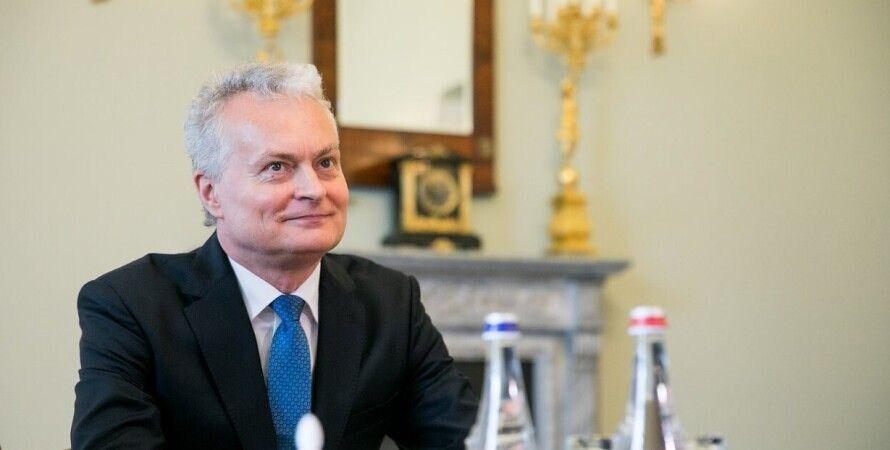 Верховна Рада, Литва, Гітанас Науседа, Дмитро Разумков, виступ
