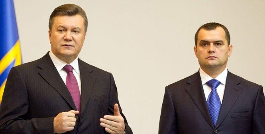 Виктор Янукович, Виталий Захарченко / ipress.ua
