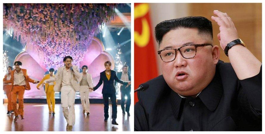 Ким Чен Ын, BTS, Северная Корея