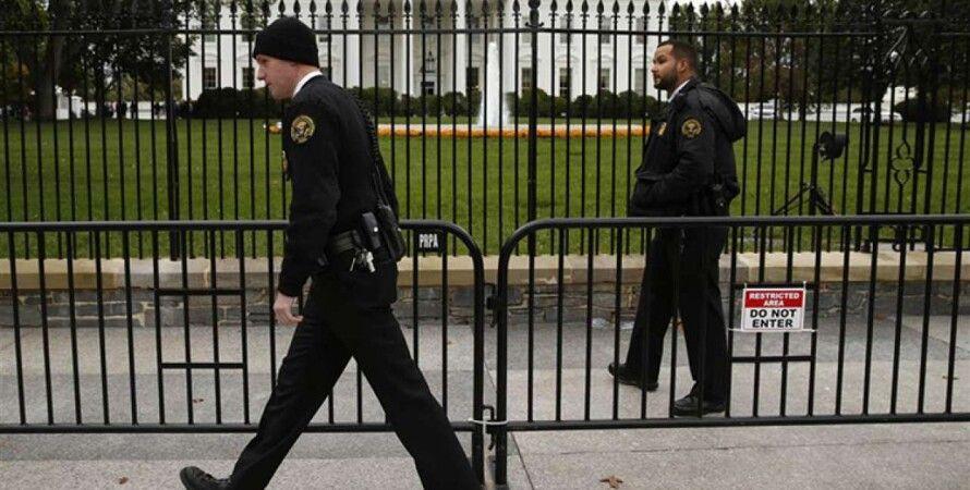 Белый дом, полиция, оружие, арест